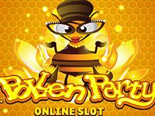 Азартная игра Pollen Party играть